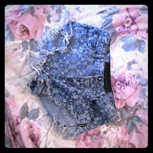 ONE TEASPOON DENIM SHORT